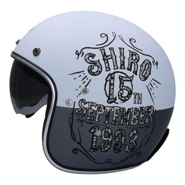 Casco para moto jet  SH-235 BORN Shiro