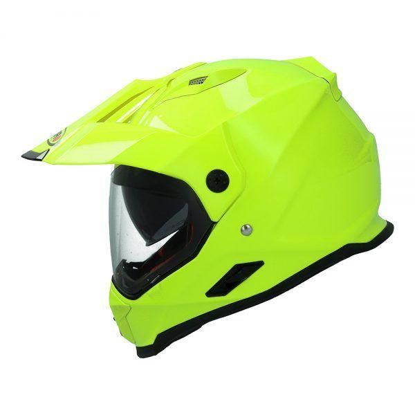 Casco para moto de motocross  MX-313 DUAL SPORT Shiro