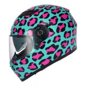 Casco de moto integral SH-600 ANIMAL PRINT Shiro