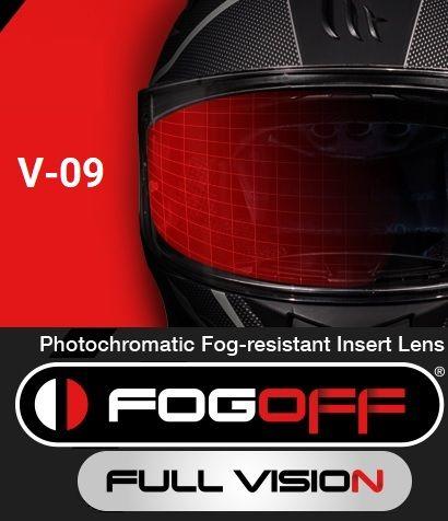 FOGOFF FOG001 LAMINAANTI-VAHO FOTOCROMÁTICA PARA MT-V-09