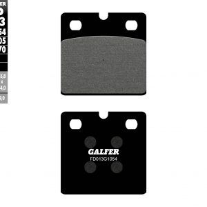 SEMI METAL BRAKE PADS