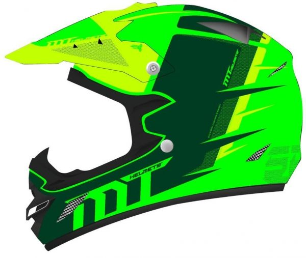 CASCO MT MX-2 SPEC  VERDE FLUOR/AMARILLO FLUOR BRILLO