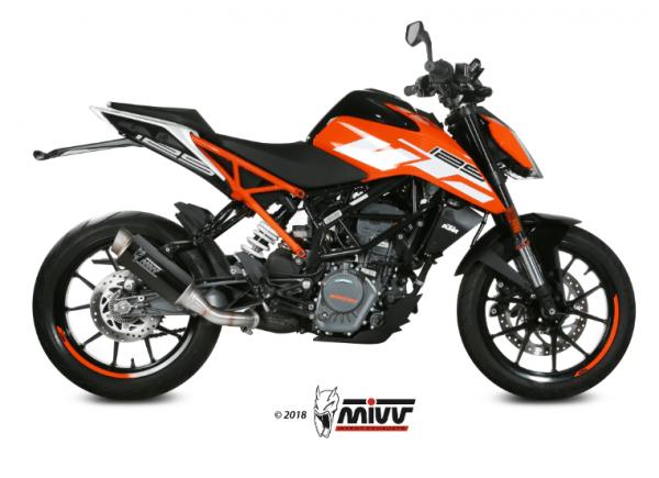 MIVV - GP PRO CARBONO - KTM 125 DUKE 2017>2020