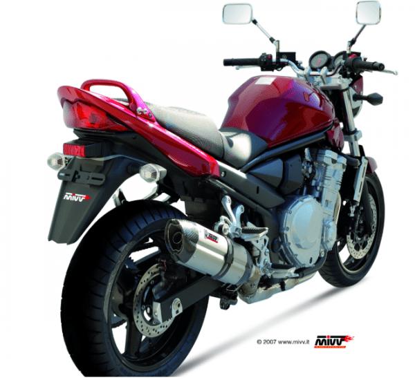MIVV - SUONO INOX - SUZUKI GSF 650 BANDIT 2007>2015