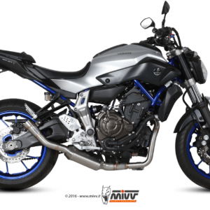 MIVV - SPEED EDGE INOX - YAMAHA MT-07 2014>2020