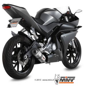 MIVV - GP TITANIUM - YAMAHA YZF R125 2014>2018