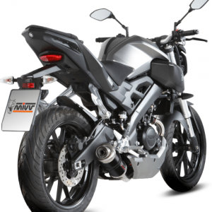 MIVV - GP BLACK INOX NERO - YAMAHA MT-125 2015>2019