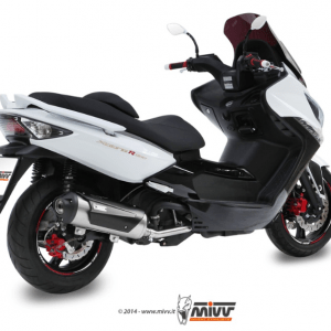 MIVV - URBAN INOX - KYMCO XCITING 500 2005>2014