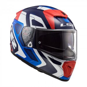 LS2 FF390 BREAKER ANDROID BLUE RED
