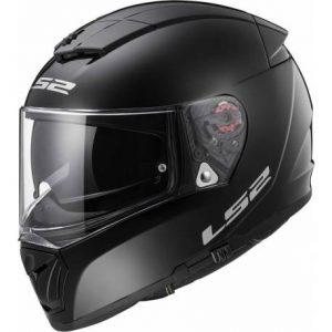 LS2 FF390 BREAKER GLOSS BLACK