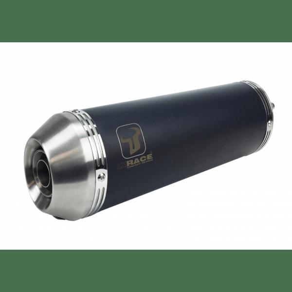 NEW PURE BLACK - HONDA CBR 125 R 11-15 SLIP ON