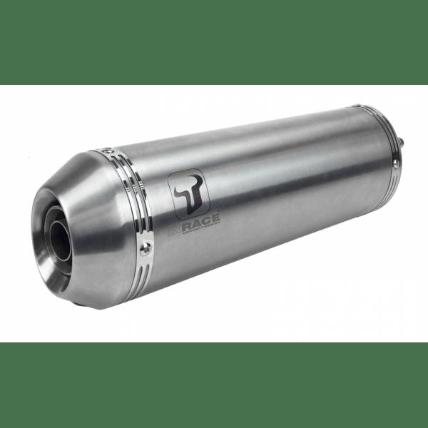 NEW PURE INOX - HONDA CBR 125 R 11-15 SLIP ON